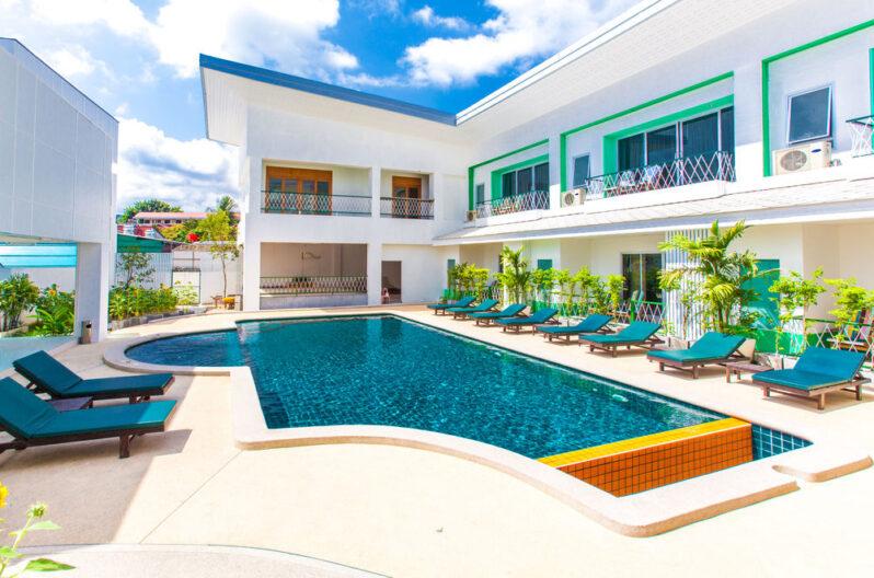 Khun Chaweng Resort pool